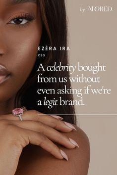 Jewelry Brand Elevation: brand logo, brand copywriting, brand photography, brand video, brand website design and brand coaching Brand Manifesto, Brand Archetypes, Brand Strategist, Brand Story, Photography Branding, Copywriting, Brand Packaging, Fashion Branding, Personal Branding