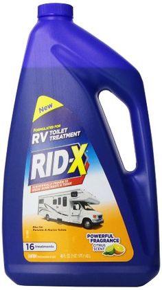 RID-X RV Toilet Treatment Liquid, 16 Treatments, 48 Ounce Rid-X http://www.amazon.com/dp/B00HB0WUB4/ref=cm_sw_r_pi_dp_c-3dub1M7YGAN