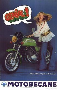Motobécane Future 500CC - 1974 -