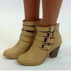 Buckle up Booties at Junky Trunk Boutique