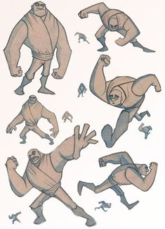 Character Poses by ~StephenEusebio on deviantART