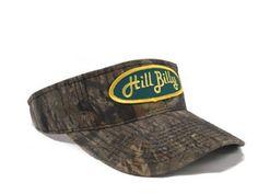 """HillBilly Brand: The """"Mossy Oak"""" HillBilly Visor"""