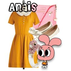 amazing world of gumball inspired outfits | Anais Watterson from The Amazing World of Gumball - Polyvore