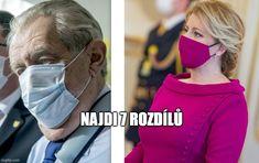 politika miloš zeman zuzana čaputová prezidenti česko slovensko koronavirus meme satira