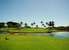 2012年2月 ハワイに行ったらゴルフでしょうと、カポレイゴルフコースへ
