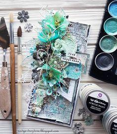 "Handmade by Nadya Drozdova: ""Find Happiness"" - моя новая открыточка"