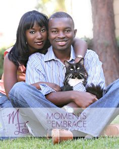 engagement photo with your cat!