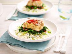 The creamy raspberry pie - Healthy Food Mom Gourmet Recipes, Dinner Recipes, Healthy Recipes, Oriental, Tasty, Yummy Food, Cauliflower Rice, Salmon Burgers, Hummus