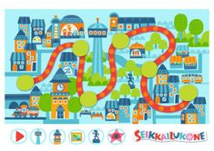 Seikkailukone: Kaupunki Kids Rugs, Home Decor, Decoration Home, Kid Friendly Rugs, Room Decor, Interior Design, Home Interiors, Nursery Rugs, Interior Decorating