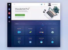 App List - Appnamics by @glebich  #ui #ux #design #webdesign #interface