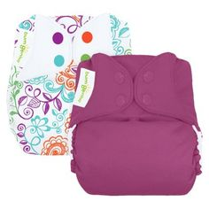 bumGenius Freetime All-In-One Snap Reusable Diaper (2 Pack) - Assorted Colors