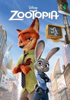From Walt Disney Animation Studios comes a comedy-adventure set in the modern mammal metropolis of Zootopia. Officer Judy Hopps jumps at the chance to crack her first case - even if it means partnering with scam-artist fox Nick Wilde. Zootopia 2016, Bonnie Hunt, Disney Zootropolis, Disney Films, Walt Disney Animation Studios, Film D'animation, Film Serie, Zooey Deschanel, Old Disney