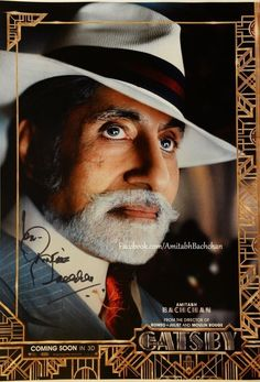 Check out our very own Big B, Amitabh Bachchan in 'The Great Gatsby'