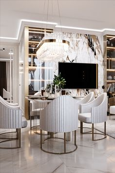 Get inspire by these interior design ideas. Upgrade your home decor! #architecture #design #residentialarchitecture #architecturalstyle #interiordesign #officearchitecture #landscape #urbanism #culturalarchitecture #homedecor #lifestylebyluxxu #lifestylebyluxxu #luxurydesigns #interiordesign #interiordesignideas Dining Room Design, Dining Room Decor, Room Decor, Luxury Furniture, Interior Design, Interior, Luxury Lamps, Luxury Interior, Dining Room Furniture