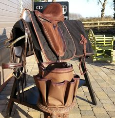Paddock Sports - Grooming Bag, Exercise Sheet with beautiful hip ornament, Classic Dressage Saddle Pad, Bliss of London Paramour Dressage Saddle, Otto Schumacher Bridle