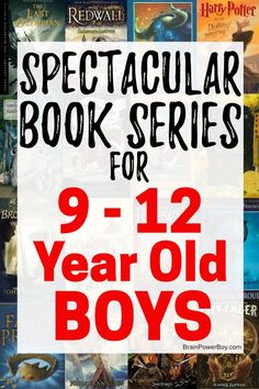 The very best book series for 9 - 12 year old boys! These Incredible series will have get your boys reading book after book after book! Don't miss this list! Book Series For Boys, Popular Book Series, Books For Boys, Teen Books, Read Aloud Books, Good Books, Ya Books, Book Suggestions, Book Recommendations