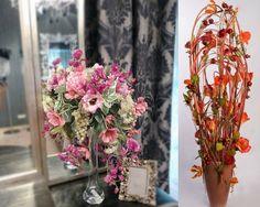 Искусственные цветы в интерьере? Почему нет?