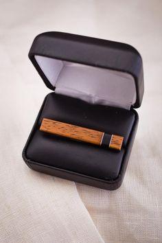 Wooden Tie Clip//