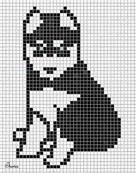 Няшка Bead Loom Patterns, Beading Patterns, Embroidery Patterns, Dog Pattern, Pattern Art, Cross Stitching, Cross Stitch Embroidery, Graph Paper Art, Funny Cross Stitch Patterns