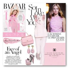 """""""#I Wear Pink For - My Grandmother"""" by nikkisg ❤ liked on Polyvore featuring Dolce&Gabbana, Gucci, By Terry, Paul Brodie, Été Swim, Prada and IWearPinkFor"""