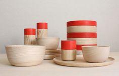 Fab wood tableware!