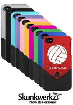 46f0cdb20580 iPhone 4 4s Case Cover Volleyball Ball Laser by CustomEtch