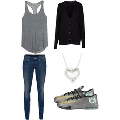 """""""Untitled #18"""" by tayla-jones on Polyvore cheap KD 6 only $55, save up to 65% off for all #Nikes #Shoes"""