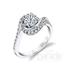 R3658 diamond engagement ring from the Hemera Collection by Parade Design.