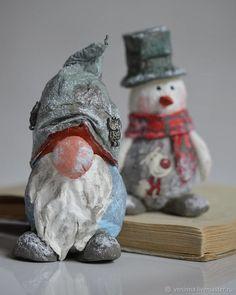 Делаем елочную игрушку «Снеговик» из ваты!, фото № 2