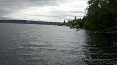 Clarke Beach on Mercer Island, Seattle ... via pretty ponderations