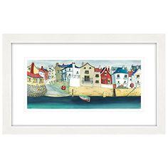 buy catherine stephenson quayside framed print 88 x 53cm online at johnlewiscom