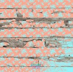 Peeling Planks Apricot Mint  #backdrop #backdrops #cakedrop #vinylbackdrop #photobackdrop #photobackground #scenicbackdrop #cakedrops #photographybackdrop #scenicbackground