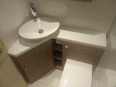 Bathroom Corner Vanity with Sink . Bathroom Corner Vanity with Sink . Inspirations Bathroom Corner Sink with Cabinet Modern Sink Vanity, Bathroom Vanity Stool, Small Bathroom Furniture, Corner Sink Bathroom, Modern Bathroom Sink, Bathroom Sink Cabinets, Small Bathroom Vanities, Tiny Bathrooms, Vanity Sink
