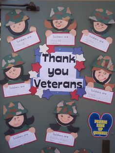 Veteran's Day activities Veterans Day Activities, Holiday Activities, Classroom Activities, Classroom Ideas, Thanksgiving Activities, Reading Activities, Kindergarten Social Studies, In Kindergarten, Kindergarten Projects