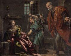 "Paolo Veronese's ""Saint Peter Visiting Saint Agatha in Prison"""