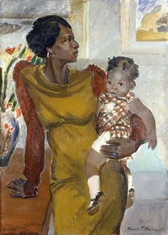 'Harlem' (1937) by artist Elanor Colburn (1866-1939). Oil on canvas, 49.5 x…