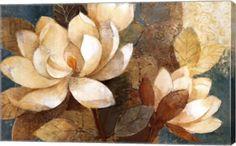 Turquoise Magnolias at FramedArt.com