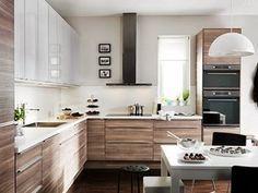 Afbeeldingsresultaat voor ikea brokhult kitchen