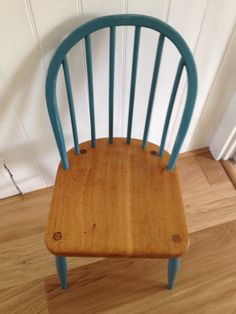 Vintage chair painted, varnished & shabbied!