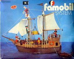 Barco pirata de los Clicks de Famobil.
