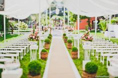 decoração casamento dia