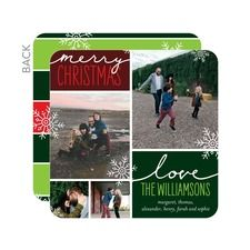 Merry Spirit Photo Holiday Cards
