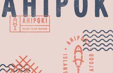 AhiPoki Branding on Behance Retail Branding, Restaurant Branding, Branding Agency, Malibu Surf, Concept, Retro, Words, Creative, Projects