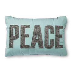 Threshold™ Peace Oblong Pillow