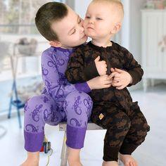 Have a smooth weekend ♥   #myllymuksut #mymust #madeinfinland  #weekendmood #bambooclothes #bambooclothing #underwearkids #bambooclothesforkids #baby #viikonloppu #bambuvaatteet #unihaalari #yökkäri #kalsaripäivä #vauvanvaatteet Uni, Bamboo, Photo And Video, Children, Face, Fabric, Color, Clothes, Instagram