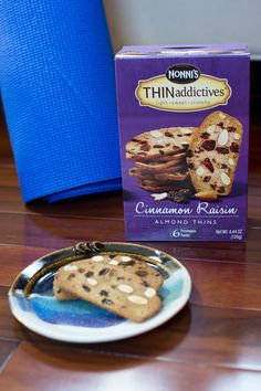 Our almond thins come individually-wrapped in 100-calorie packages (3 cookies!)—making them the perfect grab-and-go snack for the gym!