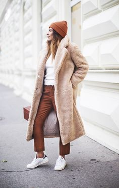 Outfit | That Big Cozy Teddy Coat