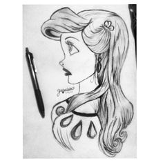 My drawing of Ariel❤️