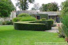 Bury Court.  Piet Oudolf, garden designer