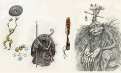 Trolls by Brian and Wendy Froud